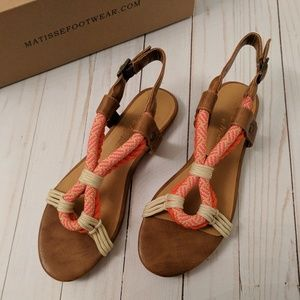 Matisse | Parlay sandals 7 NWT
